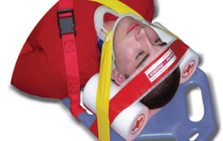Multi-Grip disposable head immobilizer by iTEC Manufacturing