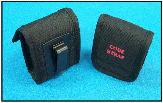 A carrying pouch is available and can be clipped to belt, pants or stretcher